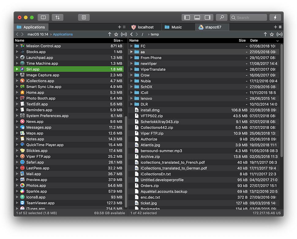 Viper FTP Mac 破解版 简单方便的FTP客户端-麦氪派(WaitsUn.com | 爱情守望者)